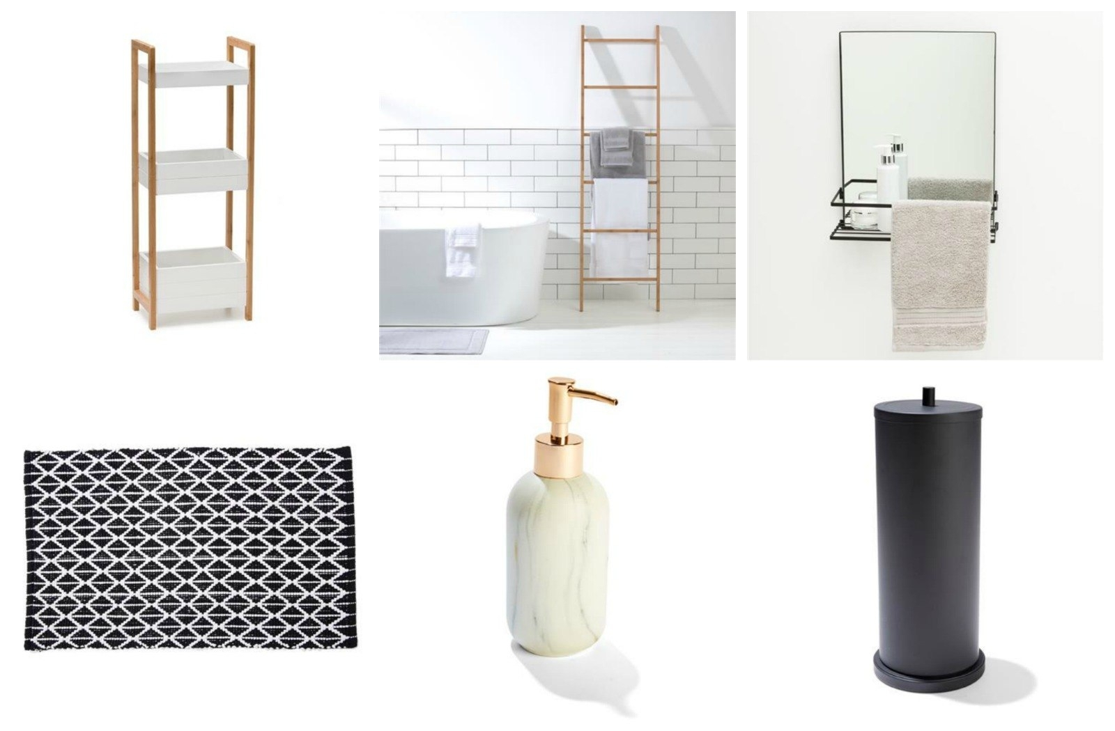 Cheap And Chic Bathroom Accessories And Storage From Kmart The – layjao